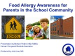 Food Allergy Awareness for All Parents