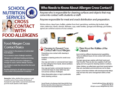 Cross Contact with Food Allergens